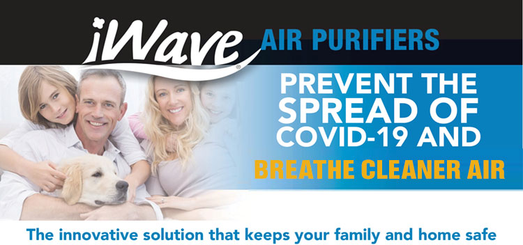 iWave Air Purifier Installations